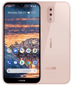 NOKIA 4.2 (2019) Dual-SIM 32GB pink mit Android One (719901070851)