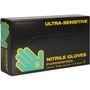 Engangshandske, Ultra Sensitive, Boisen Safety, S, blå, nitril, pudderfri