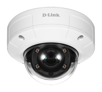 D-LINK Vigilance 5-Megapixel Vandal-Proof Outdoor Dome Camera (DCS-4605EV)
