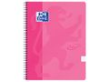 OXFORD Notatbok OXFORD Touch A4+ 90g rut rosa