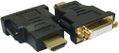 SANDBERG Adapter DVI-F-HDMI-M,  Black