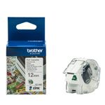BROTHER VC-500W Labels Roll Cassette 12mm x 5m (CZ1002)