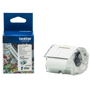 BROTHER VC-500W Labels Roll Cassette 50mm x 5m (CZ1005)
