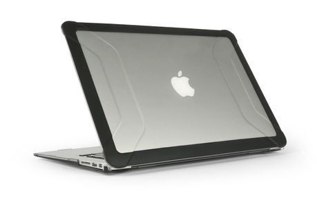 "MAXCases Extreme Shell 2 for Macbook Air 13"" (2012-2018/ Model #A1466) (Black) (AP-ES2-MBA-13-BLK)"