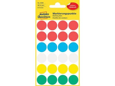 AVERY Labels Assorted (3089)