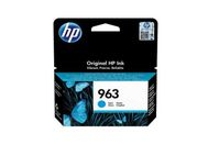 HP 963 Cyan Original Ink Cartridge