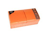 PAPSTAR Serviet 3-lags 33x33cm orange 250/pk (81658)