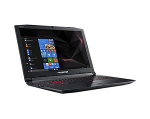 "ACER Predator Helios 300 17,3"" FHD matt GeForce GTX1060, Core i7-8750H, 8GB RAM,256GB PCIe SSD,1TB HDD, Windows 10 Home (NH.Q3DED.008)"