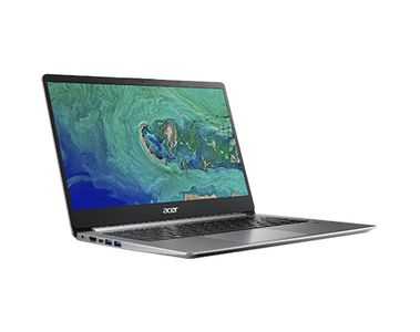 ACER Swift 1 14 N4100 4G 128G W10H - Sparkly Silver (NX.GXUED.008)
