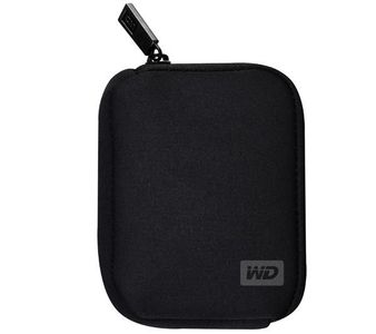 WESTERN DIGITAL BLACK MY PASSPORT SOFT CASE FITS PART# WDAAAX WDBAAX WDAACX (WDBABK0000NBK-WRSN)