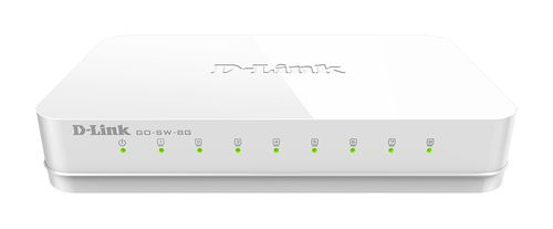 D-LINK GO-SW-8G 8-Port Gigabit Easy Desktop Switch (GO-SW-8G)