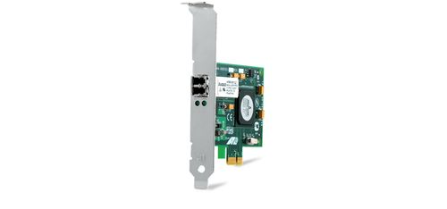 Allied Telesis PCI-EXPRE FIBER ADAPTER CARD WOL SFP FED 100FX/1G LF TAA IN (AT-2914SP-901)
