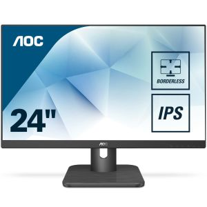 AOC Monitor AOC 24E1Q 24'', IPS, FullHD, VGA/ HDMI/ DP,  speakers (24E1Q)