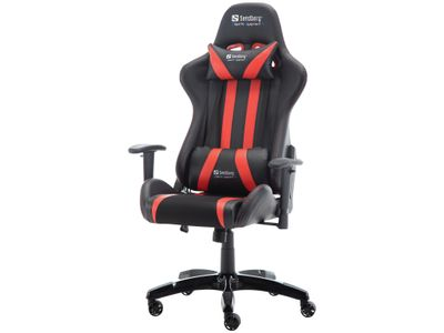 Sandberg Commander Gaming Chair Blk/Red (640-81)