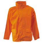 Regnjakke DryZone orange L