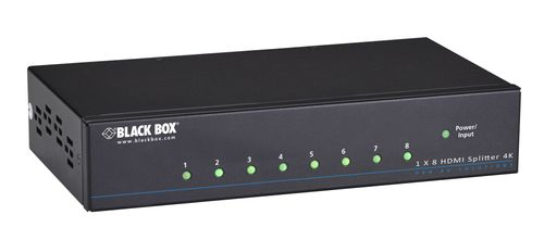 BLACKBOX HDMI 4K Splitter - 8 Channel HDCP 3D Factory Sealed (VSP-HDMI1X8-4K)