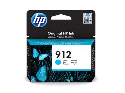 HP 912 Cyan Ink Cartridge (3YL77AE#BGX)