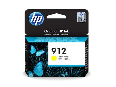 HP 912 Yellow Ink Cartridge (3YL79AE#BGX)