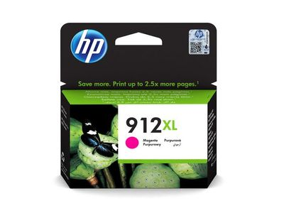 HP 912XL High Yield Magenta Ink (3YL82AE#BGX)