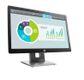 "HP EliteDisplay E202 - LED monitor - 20"""