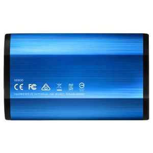 A-DATA SSD   1TB ADATA Portable SE800  USB3.2  extern Kit blue rt (ASE800-1TU32G2-CBL)