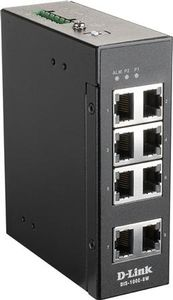 D-LINK 8 Port Unmanaged Switch with 8 x 10/100 BaseT(X) ports (DIS-100E-8W)