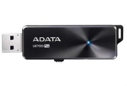 A-DATA Adata USB 3.1 Flash Drive UE700 Pro 32GB, R/W 360/180 MB/s BLACK (AUE700PRO-32G-CBK)