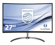PHILIPS 27IN LCD 1920X1080 FHD 16:9 278E8QJAB/ 00 20M:1 4MS VGA/HDMI IN (278E8QJAB/ 00)