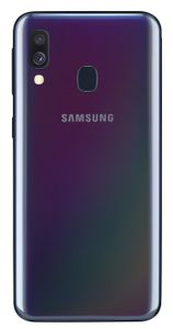 SAMSUNG Galaxy A40 5.9inch FHD+ 2220x1080 4GB + 64GB Rear:16/ 5MP Front:25MP 3100mAh Black Android (SM-A405FZKDNEE)
