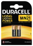 DURACELL Battery Security MN21 2pcs