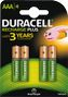 DURACELL Battery Recharge Plus AAA 750mAh 4pcs