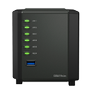 SYNOLOGY DS419slim 4-Bay NAS-case