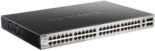 D-LINK 48 x 10/ 100/ 1000BASE-T ports Layer 3 Stackable Managed Gigabit (DGS-3130-54TS/SI)