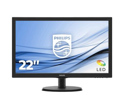 "PHILIPS 223V5LHSB2/ 00 21.5"" LED FullHD 200cd/m2 (223V5LHSB2/00)"