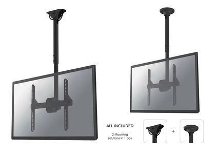 NEWSTAR NeoMounts Flat screen ceiling (NM-C440BLACK)