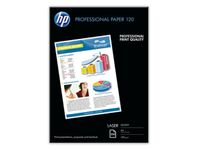 HP Professional glanset laserpapir 120 gsm – 250 ark/ A4/ 210 x 297 mm (CG964A)