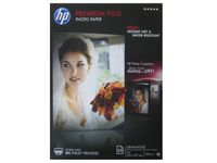 HP Premium Plus Semi-gloss Photo Paper-20 sht/ A4/ 210 x 297 mm (CR673A)