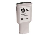 HP 727 original ink cartridge mat black standard capacity 300 ml 1-pack (C1Q12A)