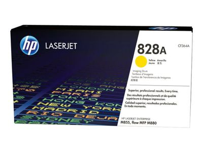 HP 828A original imaging drum yellow standard capacity 30.000 pages 1-pack (CF364A)