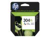 HP Ink/304XL Tri-color (N9K07AE#UUS)