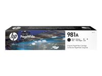 HP INK CARTRIDGE 981A BLACK . SUPL