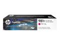HP INK CARTRIDGE 981Y MAGENTA EXTRA HIGH YIELD SUPL