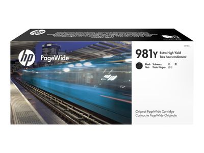 HP 981Y Extra High Yield Black PageWide Cartridge (L0R16A)