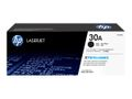 HP 30A BLACK TONER CARTRIDGE FOR LASERJET