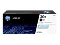 HP 30X BLACK TONER CARTRIDGE FOR LASERJET