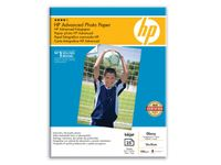 HP Advanced glättat fotopapper - 25 ark/13 x 18 cm utfallande (Q8696A $DEL)