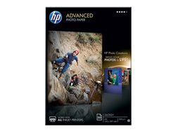 HP Advanced fotopapir glittet 50 ark, A4, 210 x 297 mm (Q8698A)