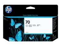 HP 70 130-ml Light Gray DesignJet Ink Cartridge (C9451A)