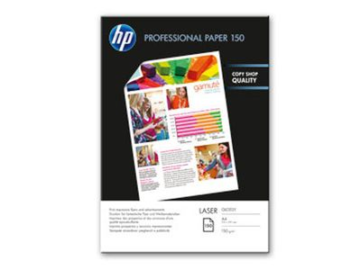 HP Professional glanset laserpapir 150 gsm – 150 ark/ A4/ 210 x 297 mm (CG965A)
