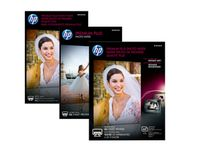HP Premium Plus glanset fotopapir – 20 ark/13 x 18 cm (CR676A)